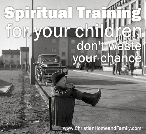 spiritual training for your children
